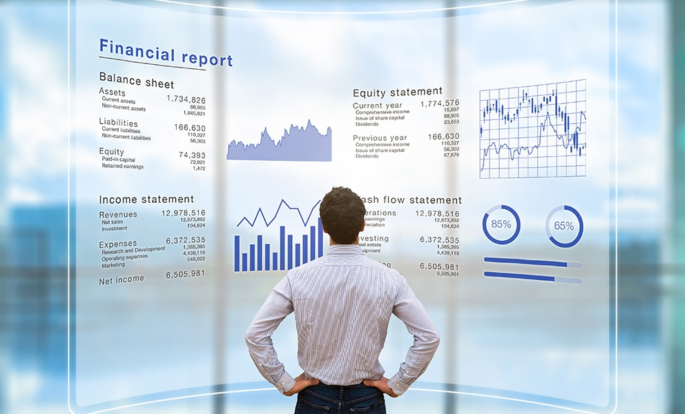 Financial reports image Services
