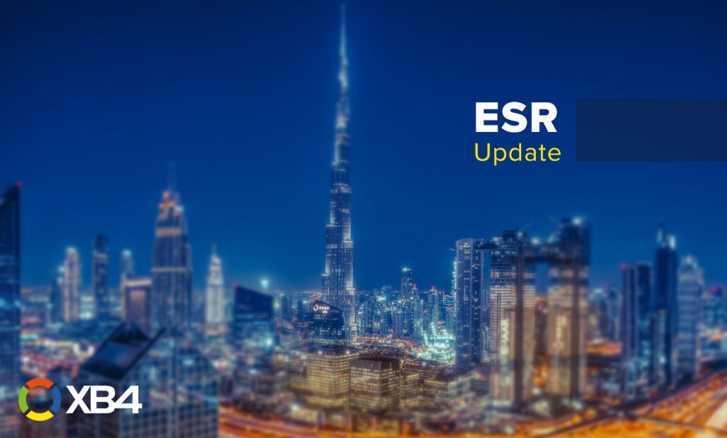 Economic Substance Regulations (ESR) in the UAE update