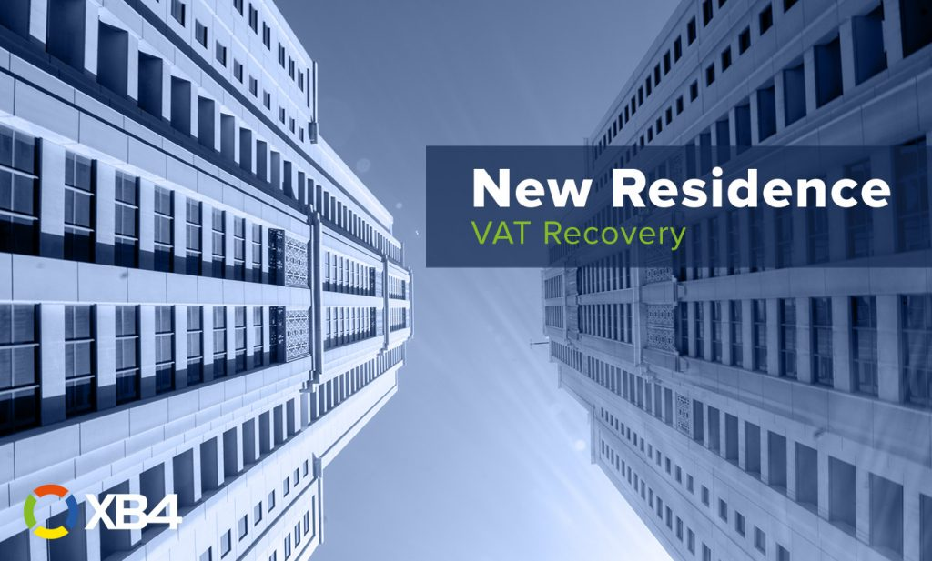 210422 New Residence VAT Recovery